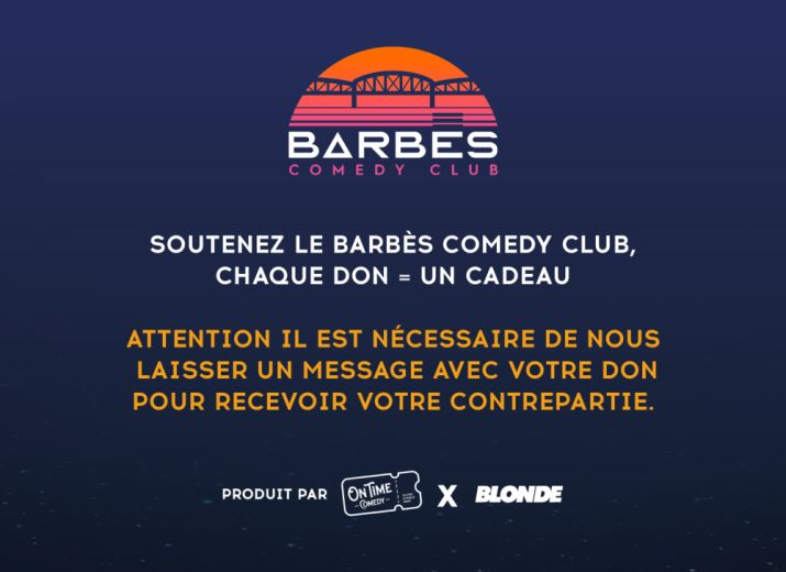 À la rescousse du Barbès Comedy Club : la nouvelle Maison du Stand-up !