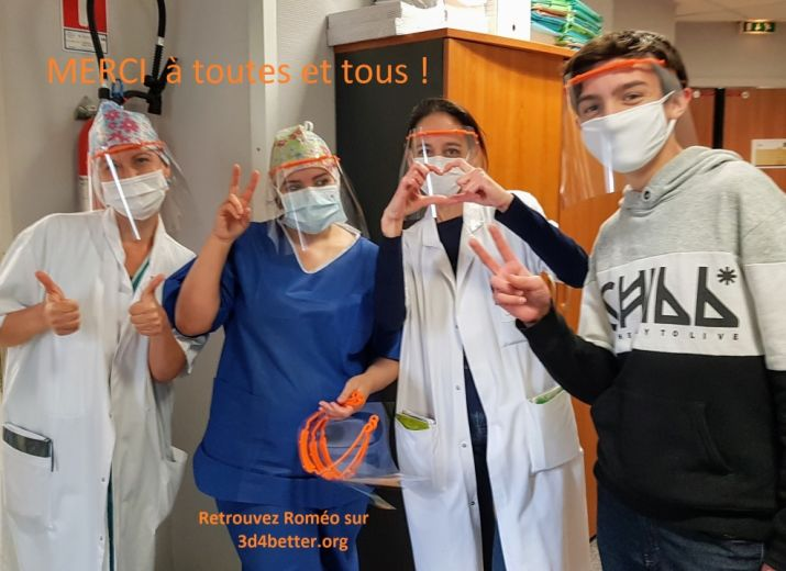 3D4Better : participez à la production de masques pour nos soignants!