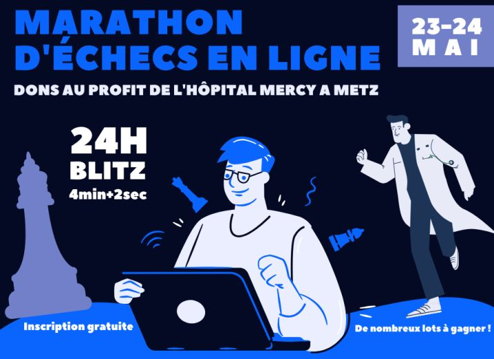"Marathon d'Echecs ""Tous ensemble pour Mercy"""