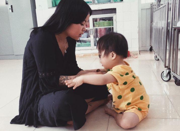 Soutien à l'association Sao Maï, l'étoile du matin - Enfants de l'orphelinat Go Vap au Vietnam