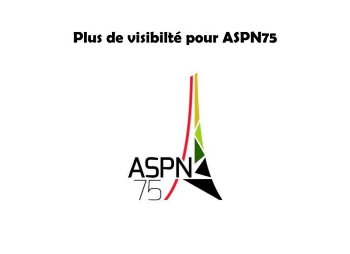 Développement du site internet ASPN75