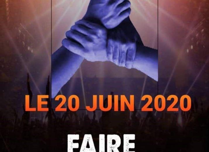 Concert en ligne: FAIRE MA PART/ CAUSE: Soutien au artistes gabonais affectés par la crise sanitaire.