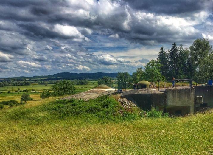 Sentier de la Ligne Maginot - Saillant de Cattenom