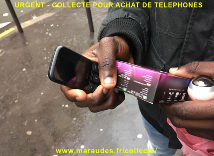 Fournir un téléphone aux jeunes mineurs isolés – Été 2020