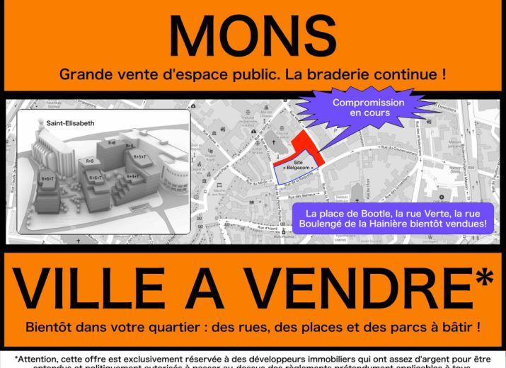 MONS - Défense du coeur urbain - Quartier Bootle Saint-Elisabeth