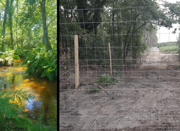 Participation aux frais contre la chasse et la clôture entre Arès et Andernos