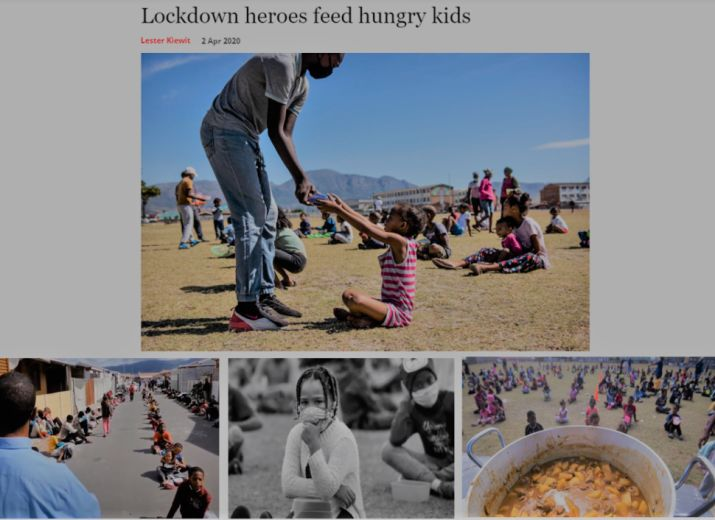 Feed South African Children During the Covid-19 Lockdown