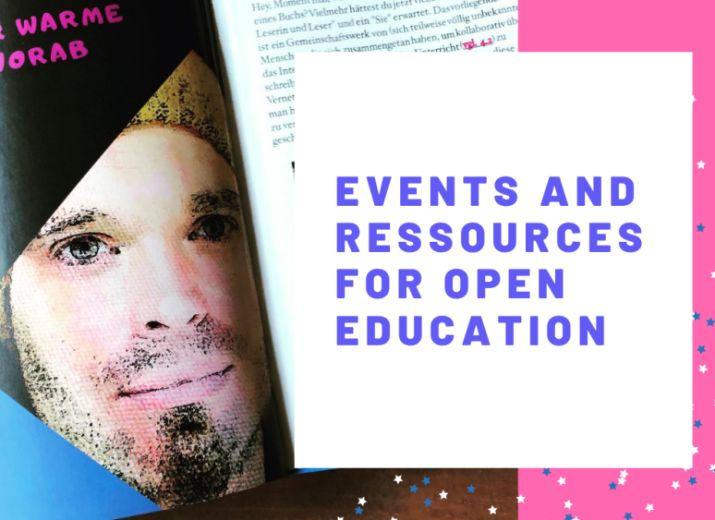 Events and Ressources for Open Education