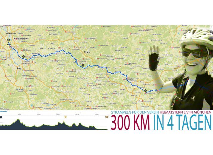 Fahrradtour für Heimatstern e. V.