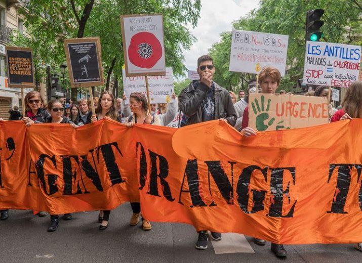 Solidarité avec les victimes de l'Agent Orange