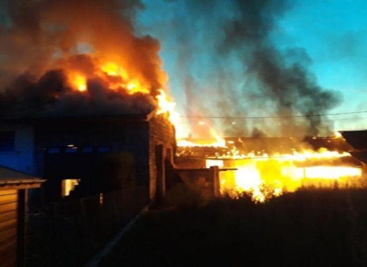 Aide aux sinistrés suite à l'incendie au Vorgey à Ambronay