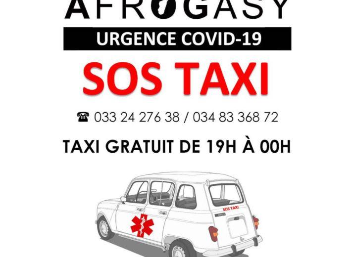 «SOS TAXI» - Lutte contre le Covid-19 à Madagascar
