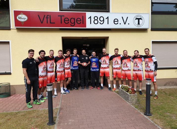 Handball Trainingslager VfL Tegel 2 Männer