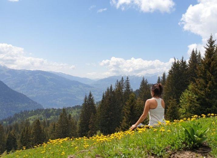 Yoga pour le climat CREA Mont Blanc