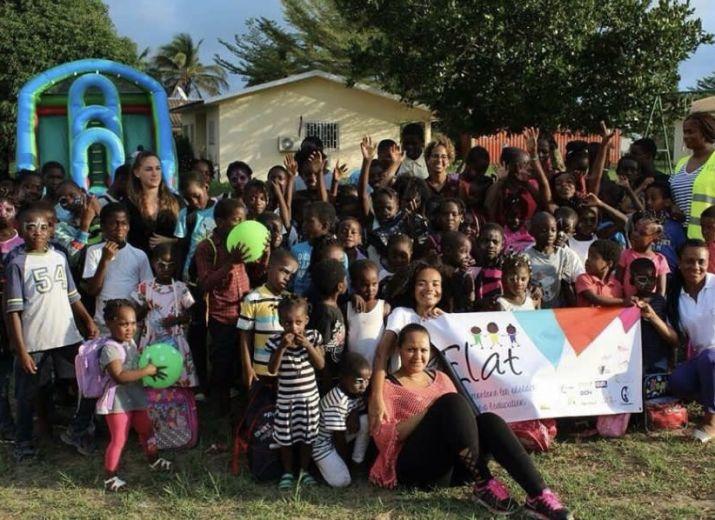 Soutien aux enfants défavorisés de Libreville (GABON) pour l'association ELAT
