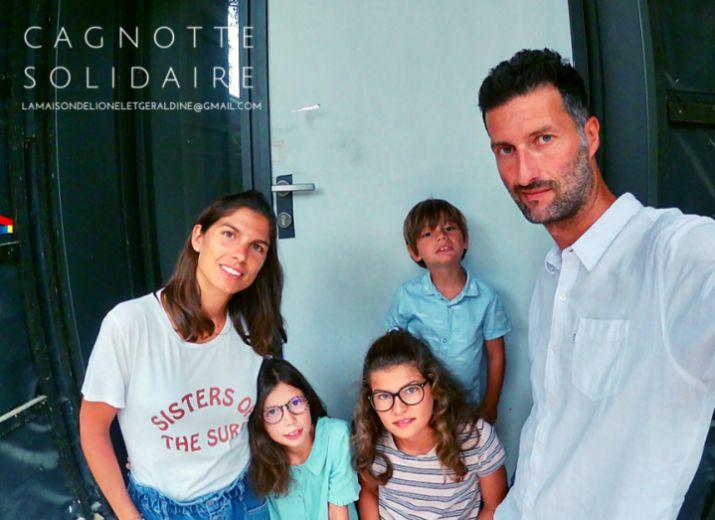 Aidez nous à reconstruire notre maison / Lionel et Géraldine