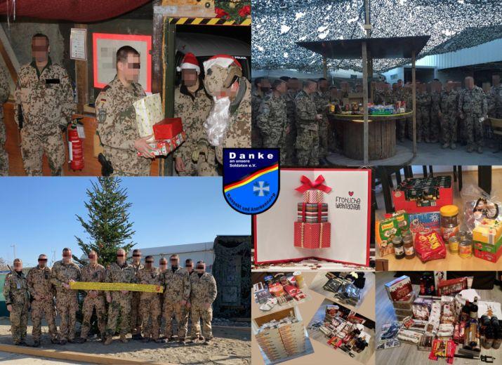 Paketaktionen für unsere Soldatinnen und Soldaten im Auslandseinsatz