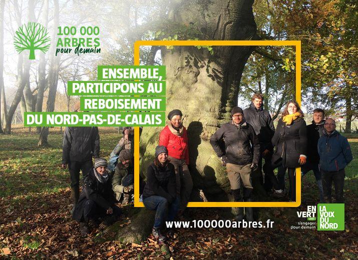 100 000 arbres pour demain 2020/2021