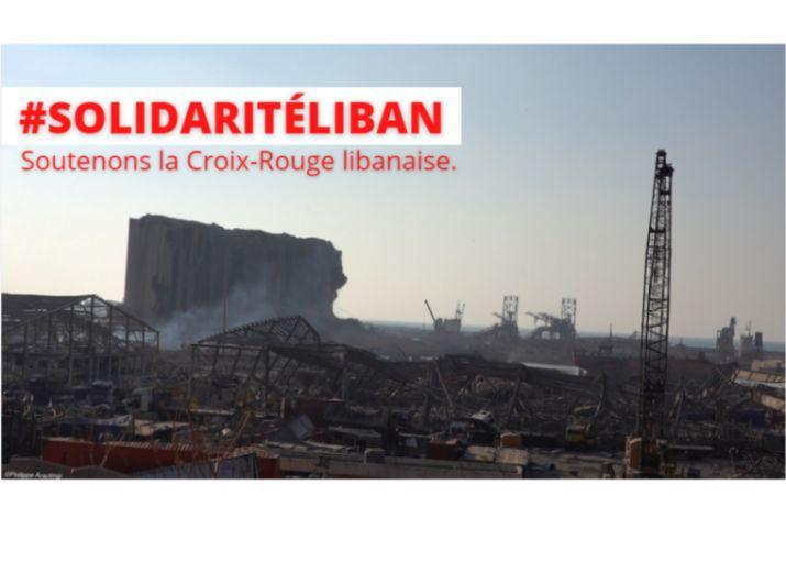 #SolidaritéLiban, soutenons la Croix-Rouge libanaise !