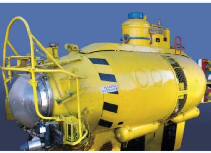 Le GRIFFON un sous-marin, un patrimoine maritime