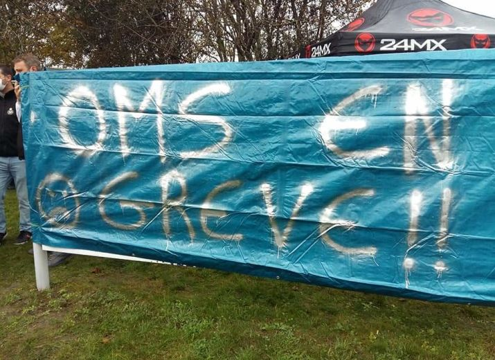 Solidarité des salariés grévistes OMS