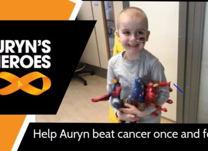 Sid's 'Hair Cut' fundraiser for Auryn's Heros  #aurynsheroes