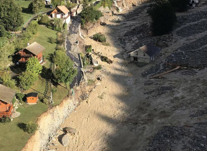 Fonds de solidarité aux victimes de la tempête Alex dans les Alpes-Maritimes