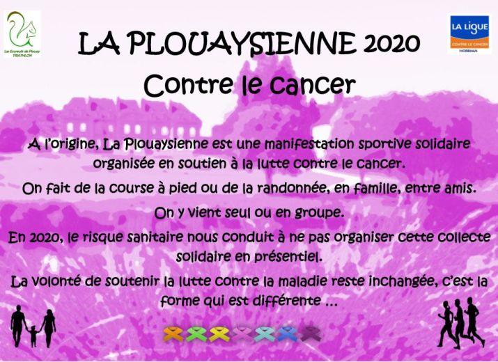 LA PLOUAYSIENNE contre le cancer