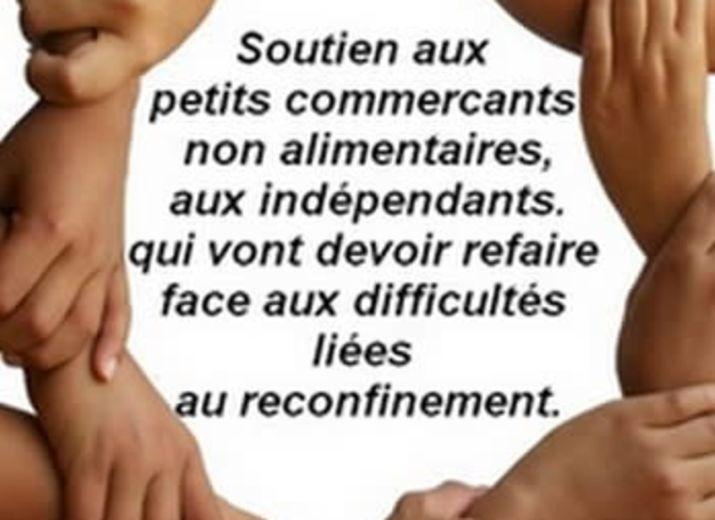 Solidarité venir en aide petit Commerçants et Indépendants Français