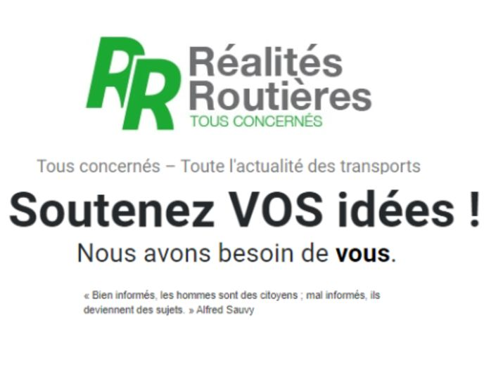 Réalités Routières a besoin de VOUS !
