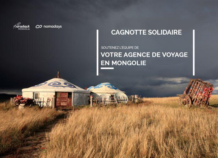 Sauvons les emplois de l'agence de voyage locale Horseback Mongolia, membre du collectif Nomadays