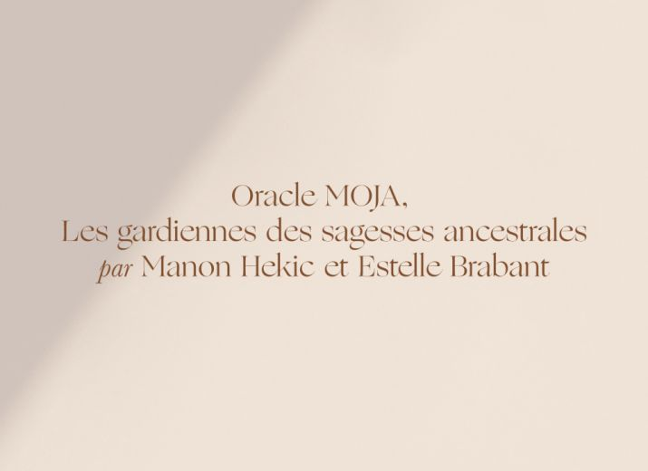 Oracle divinatoire - Manon Hekic