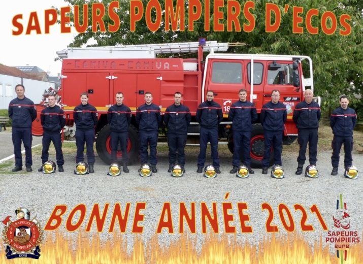Calendriers Pompiers Ecos
