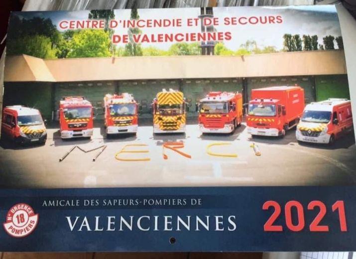 Calendriers des sapeurs-pompiers de Valenciennes