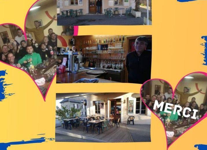 Soutien à Fred - Café De La Place