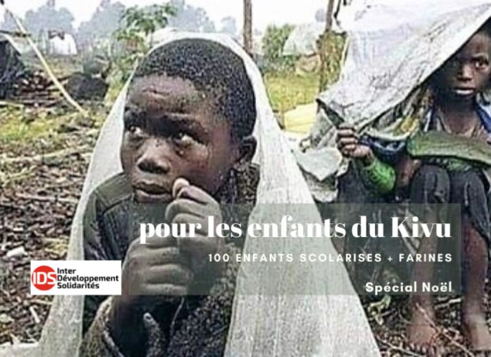 SOS FARINE + ALPHABETISATION  ORPHELINS- SUD KIVU RDC