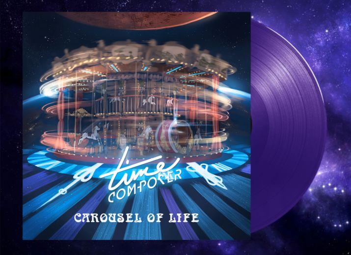 Commandez CAROUSEL OF LIFE en vinyle édition limitée violet, fourni avec une carte pour télécharger l'album !