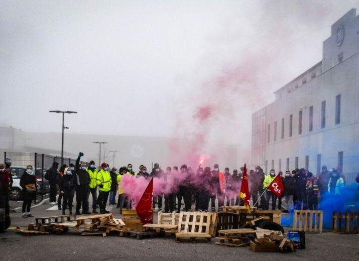 Caisse de grève pour les salariés de Général Electric Villeurbanne et Saint-Priest