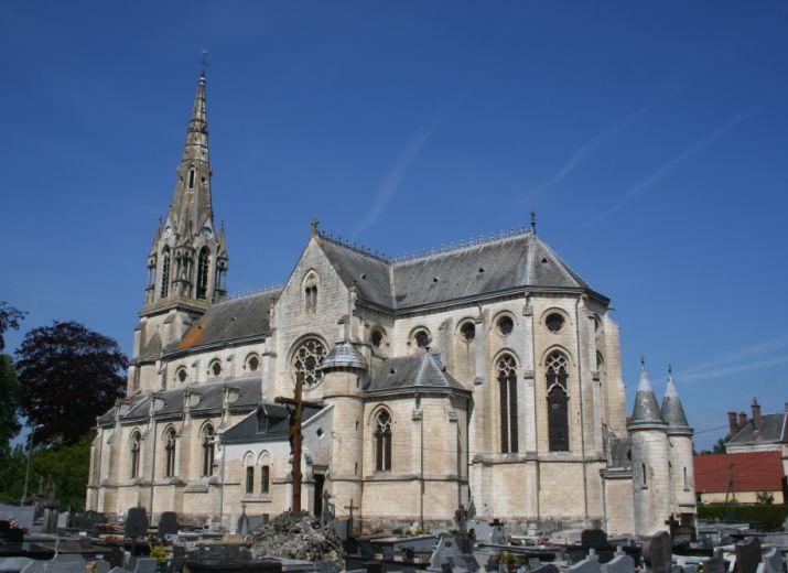 HALLINES Eglise