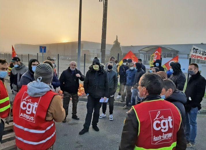Cauquil Caisse De Grève Solidarité