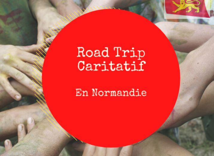 Road Trip caritatif en Normandie