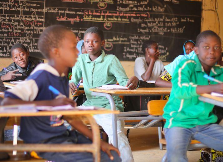 Soutien aux écoles UVS au Mali et au Sénégal