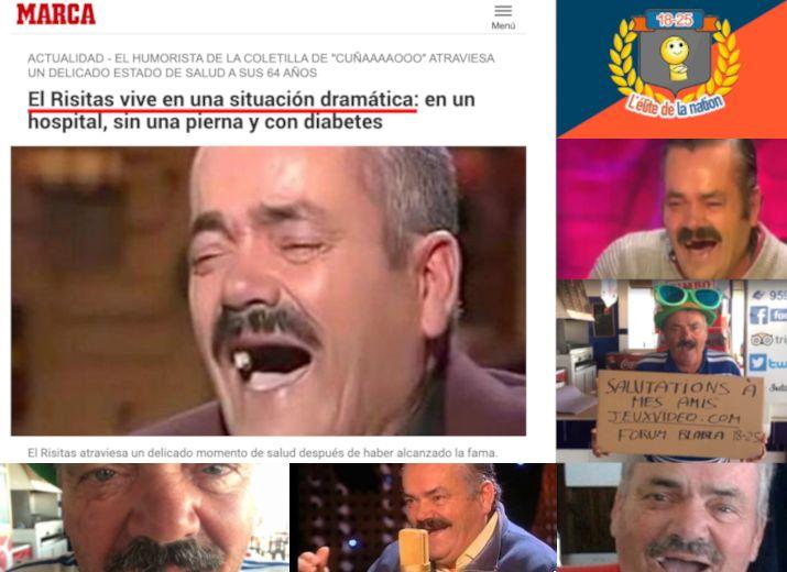 """Soutenons ensemble """"El Risitas"""" !"""
