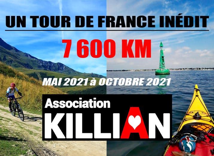 Tour de France en kayak de mer & en VTT