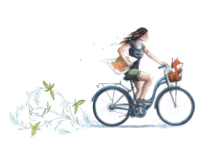 Tour de France des Jardins thérapeutiques à vélo électrique - Le Jardin des Maux'passants prend la poudre d'escampette!