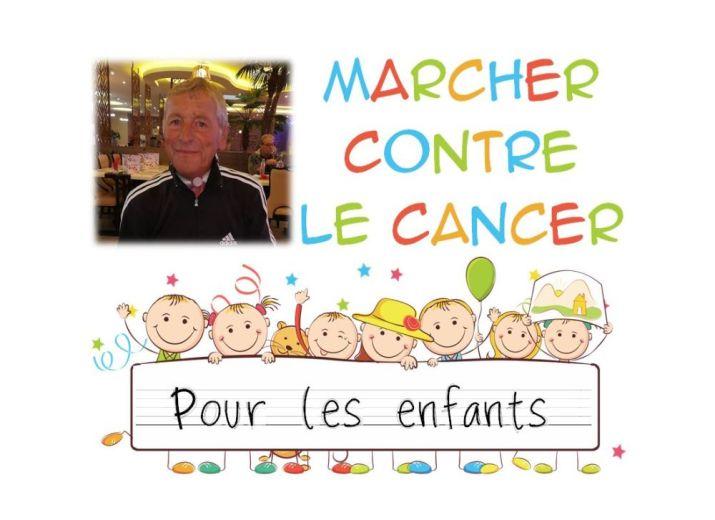 Marcher contre le cancer pour les enfants