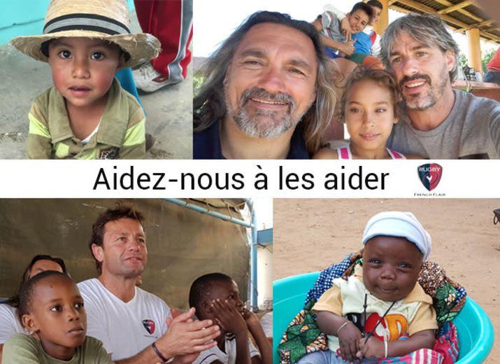 Rugby French Flair, actions concrètes auprès d'enfants défavorisés
