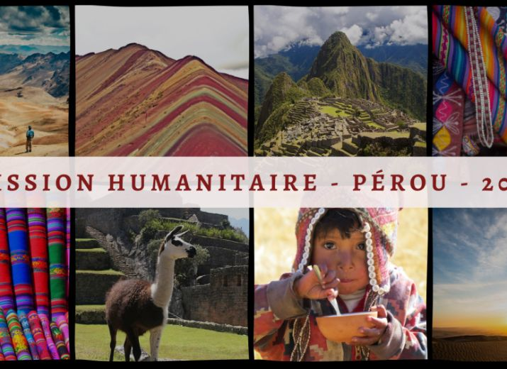 Mission humanitaire Pérou pour la construction d'un centre de santé