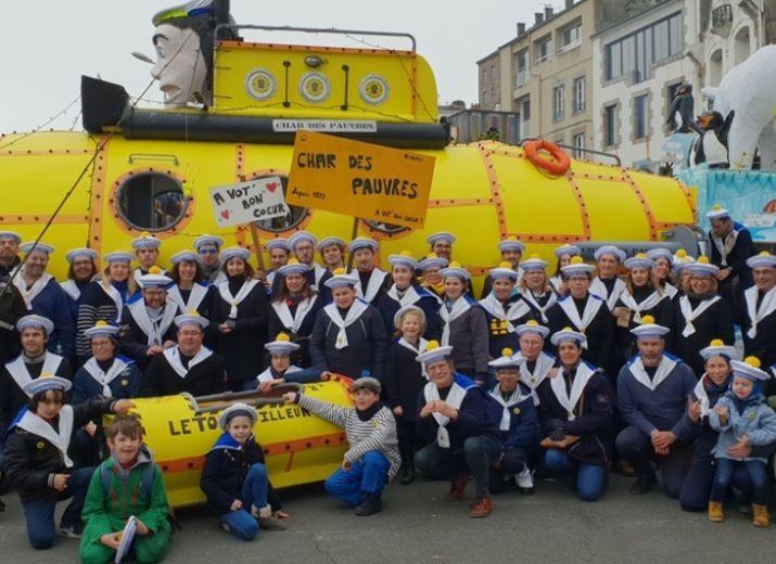 Char des Pauvres - Carnaval de Granville 2021 - au profit de l'épicerie sociale
