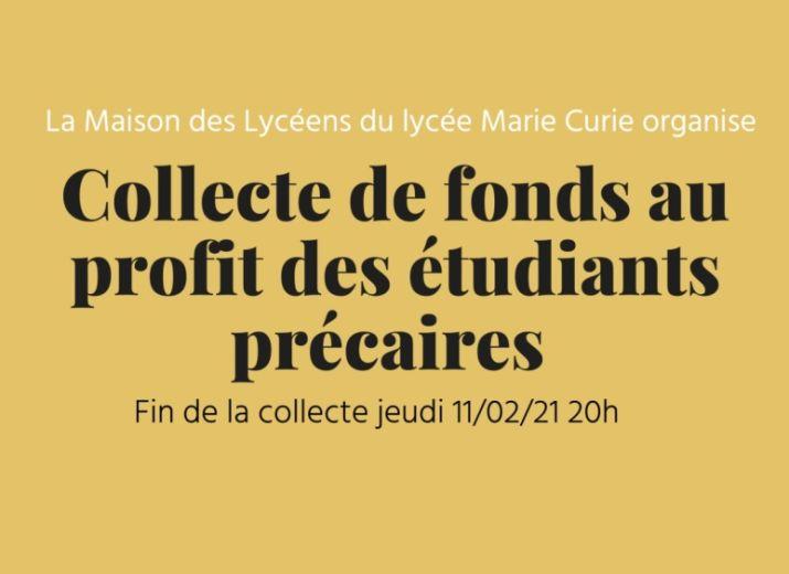 Solidarité avec les étudiants précaires de Strasbourg